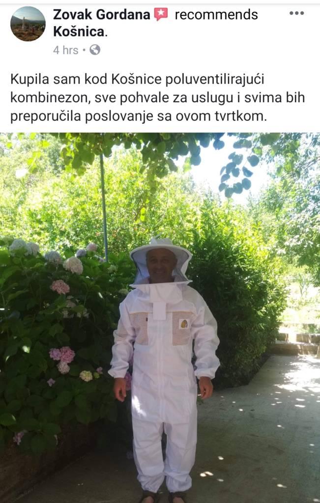Ventilirajuća prozračna pčelarska odjeća. Zaštitna odjeća.