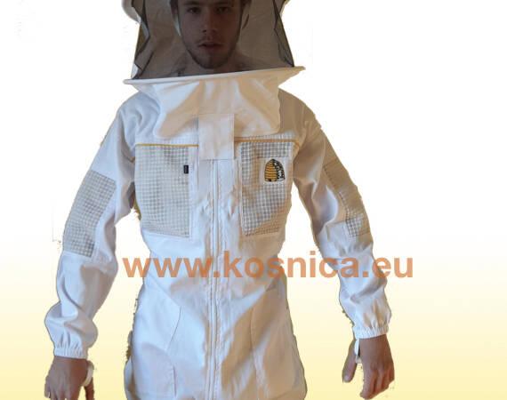 Košnica ventilirajuća zaštitna pčelarska odjeća. Pčelarski kombinezon. Pčelarska jakna.