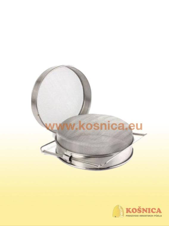 Cjedilo za med od nehrđajućeg čelika za kante