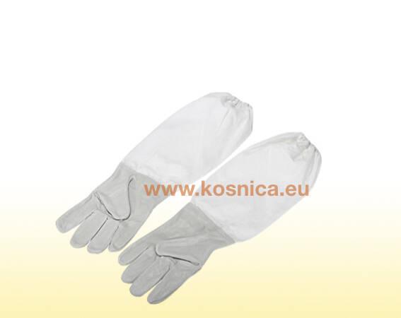 Kožne pčelarske rukavice su dio standardne zaštitne pčelarske odjeće.