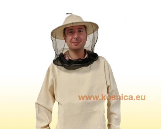 Pčelarska jakna od kepera sa šeširom