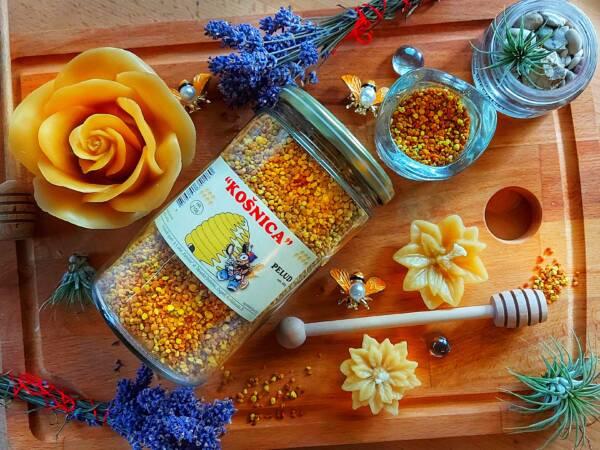 Pelud ili cvjetni prah je savršeni dodatak prehrani uz ostale pčelinje proizvode